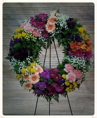 Garden Wreath Tribute
