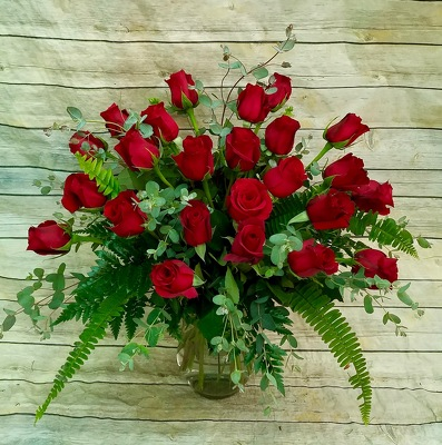 Exquisite Roses  from Wren's Florist in Bellefontaine, Ohio