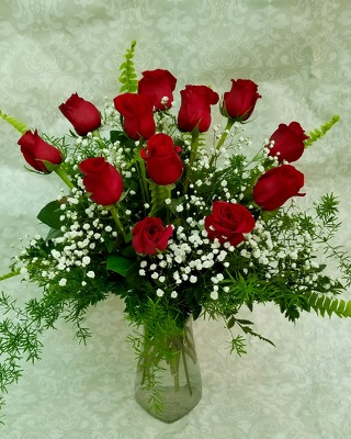 One Dozen Red Roses  from Wren's Florist in Bellefontaine, Ohio